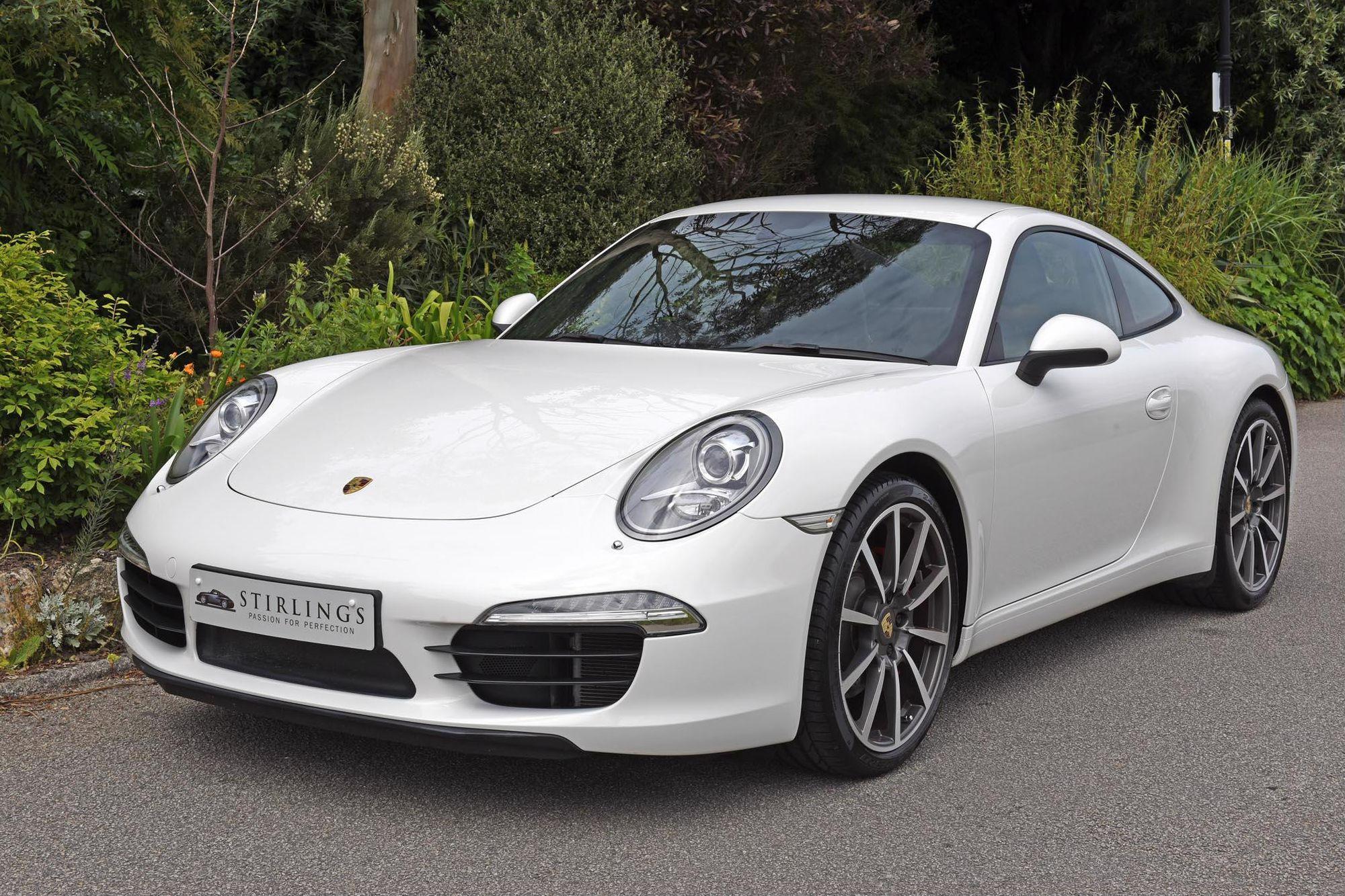 2012 porsche 911 991 carrera s pdk 12 800 miles sale agreed for sale stirlings. Black Bedroom Furniture Sets. Home Design Ideas