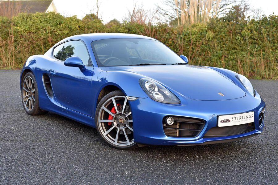 2014 Porsche  Cayman S (981)  PDK 16,200 Miles £42,995