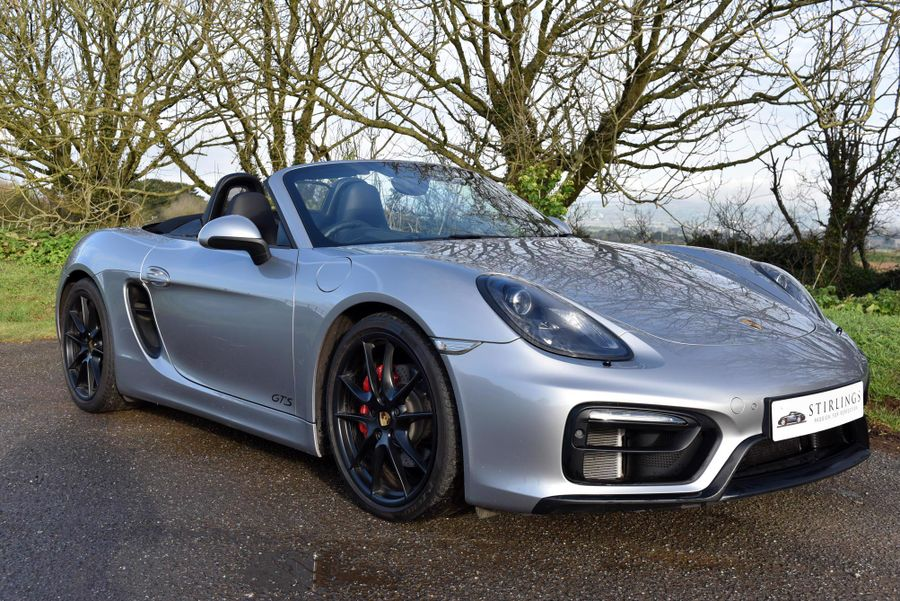 2015 Porsche  981 Boxster GTS Manual, 7,600 Miles, Sale Agreed