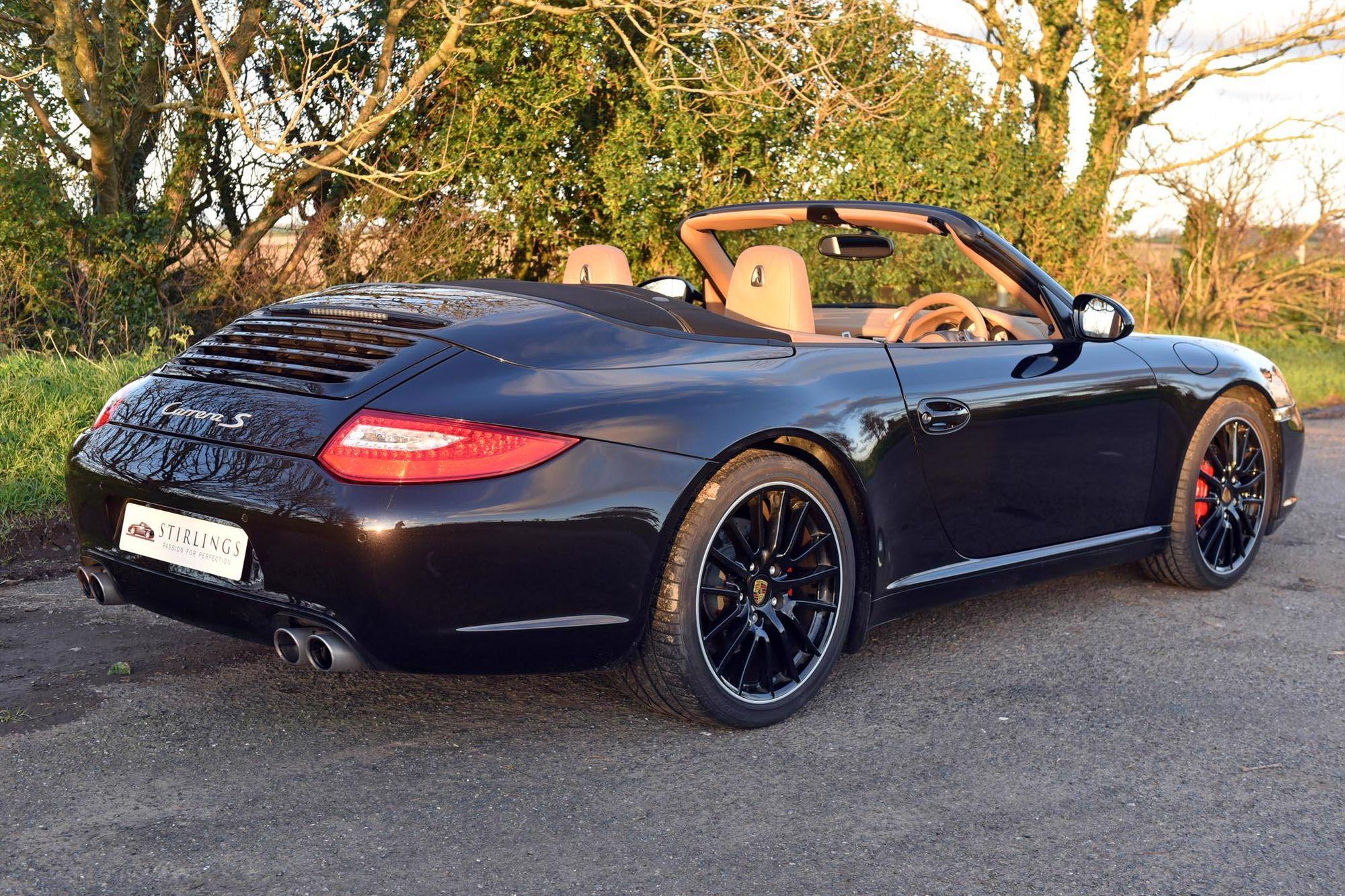 2010 Porsche 911 (997) Carrera S PDK Convertible, 21,000 ...