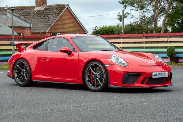 2018 Porsche    911 991.2 GT3 Clubsport Manual, Only 2,800 Miles, £124,995