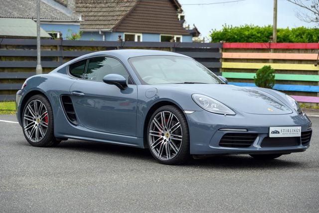 2018 Porsche 718 Cayman S Manual, 2018, 15,500 Miles, Sale Agreed